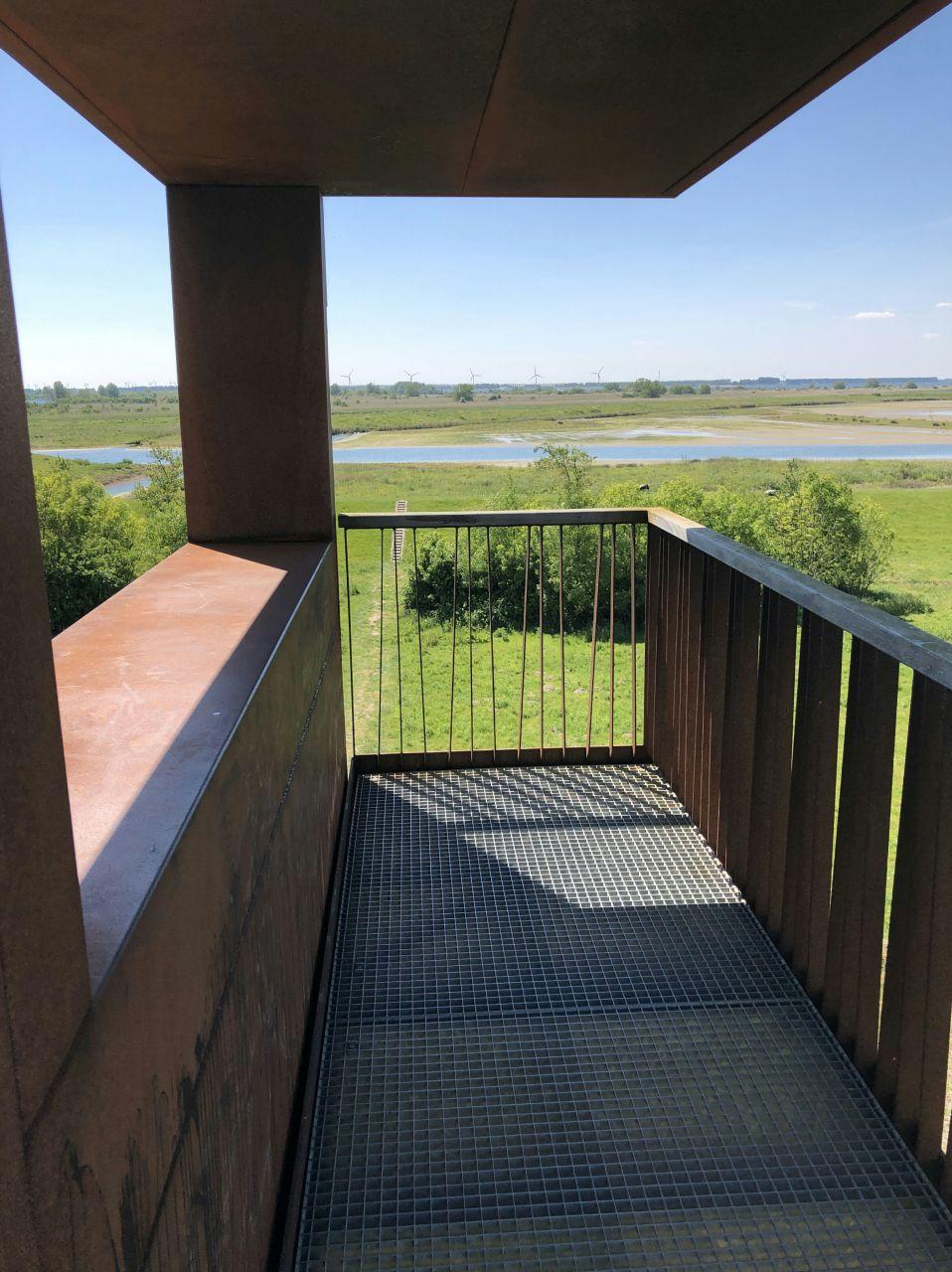 Uitkijktoren Beningerwaard  Spuimonding